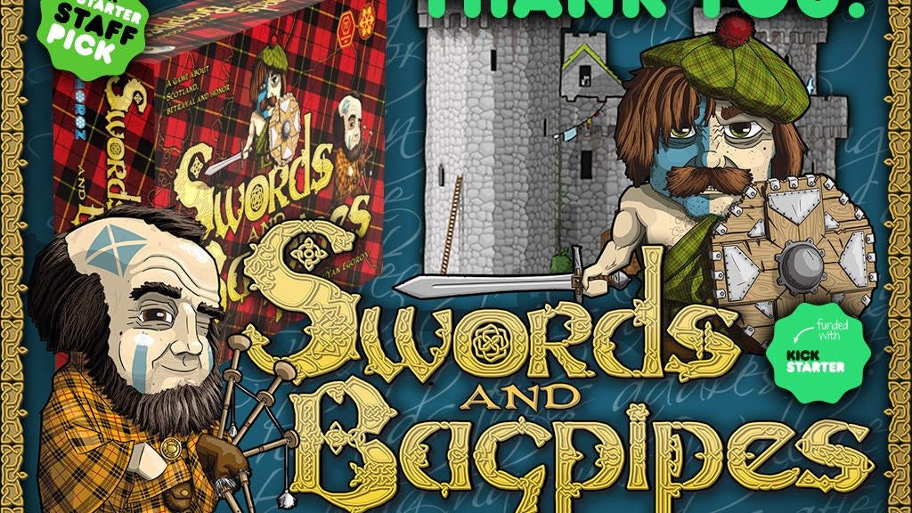 Swords and Bagpipes. Freedom, Treachery, Power! project video thumbnail