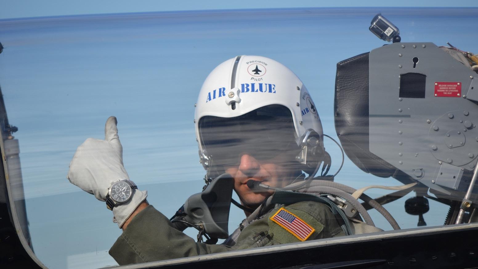 cf6defcfe26 Air Blue Pilot Watches by Stan B — Kickstarter