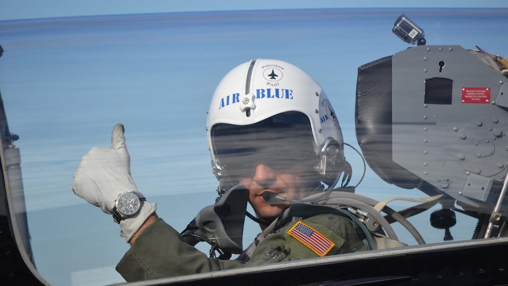 Air Blue Pilot Watches project video thumbnail