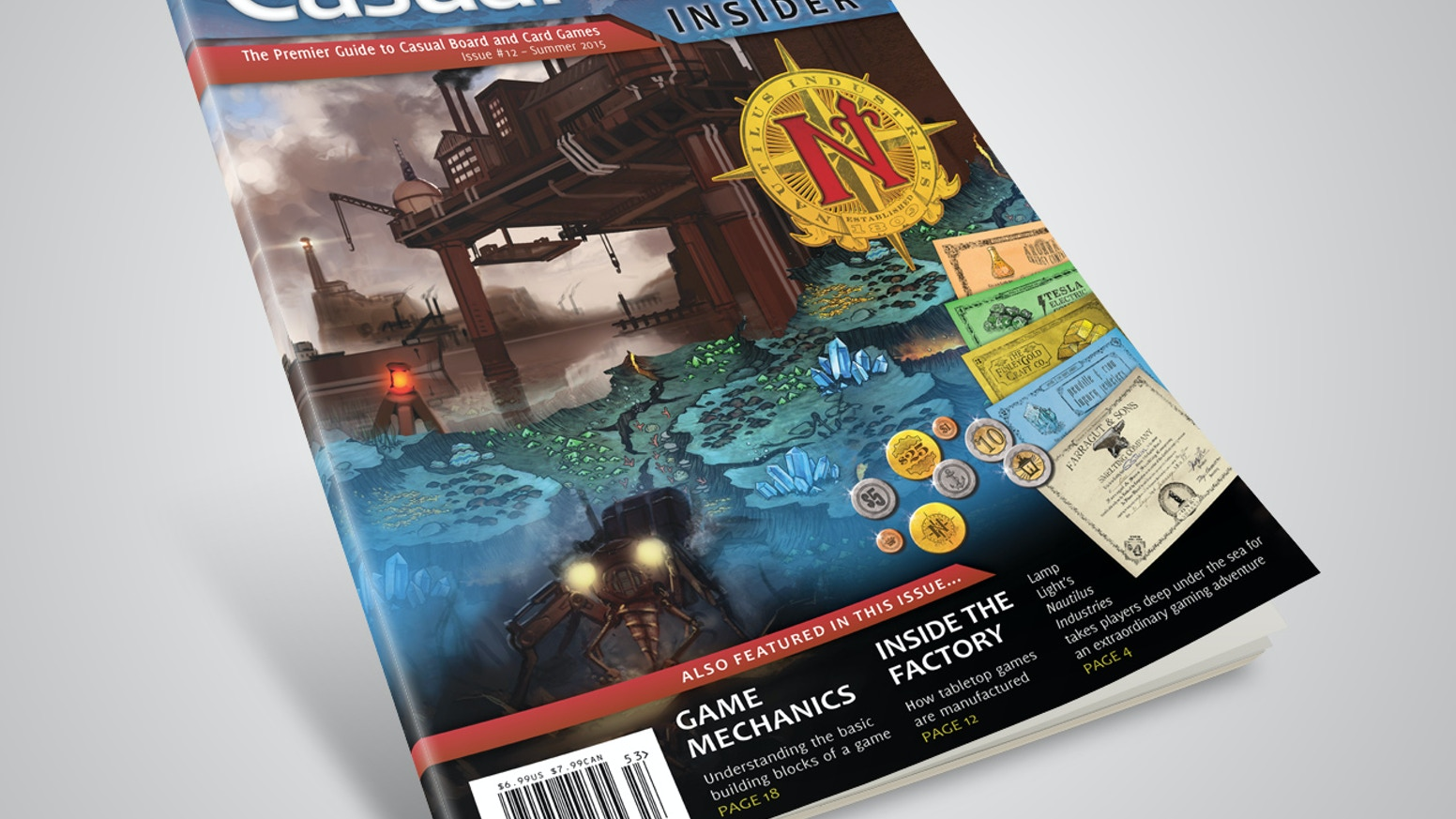 News, reviews, and many interesting articles related to tabletop games - by casual gamers, for casual gamers.