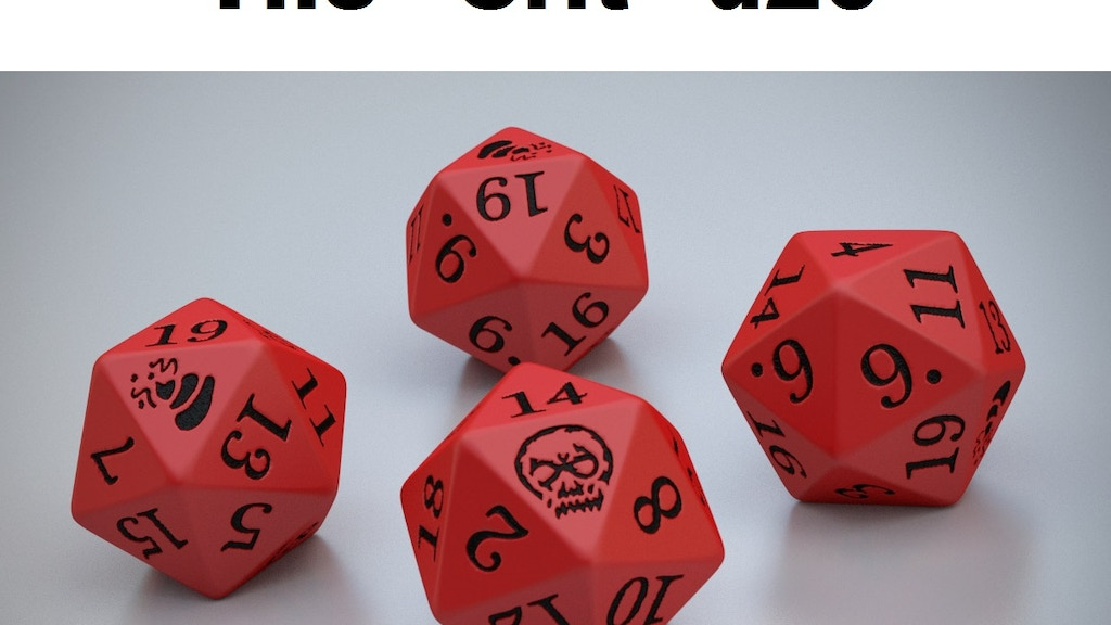 Crit or Shoot d20 DICE project video thumbnail