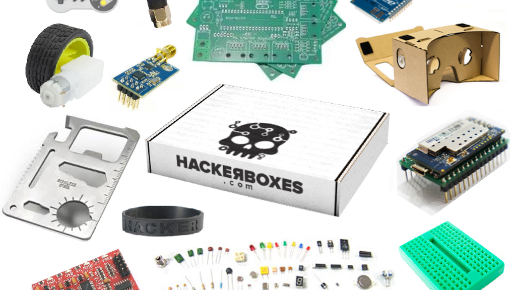 Project image for HackerBoxes - The Subscription Box for Electronics Hobbyists