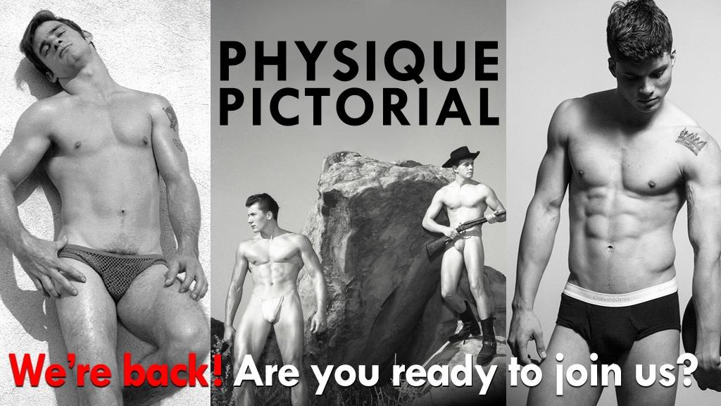 Physique Pictorial: Relaunch Bob Mizer's Male Photo Magazine project video thumbnail