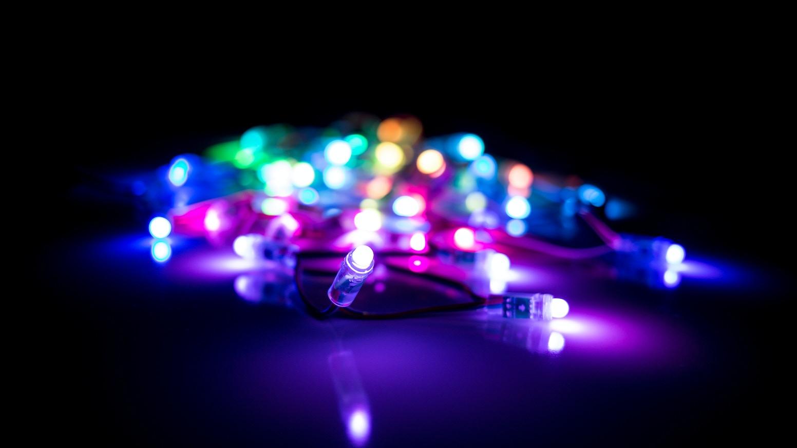 HypnoLights, Full Color Animated String Lights! by Hypnocube Kickstarter