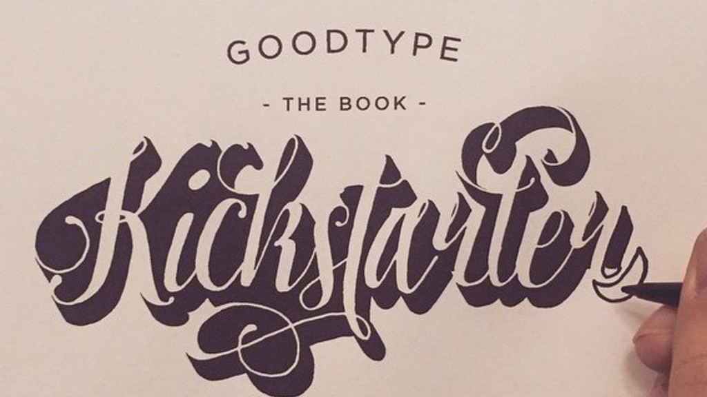 Goodtype The Book, Volume One project video thumbnail