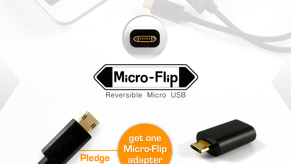 Micro-Flip reversible Micro USB project video thumbnail