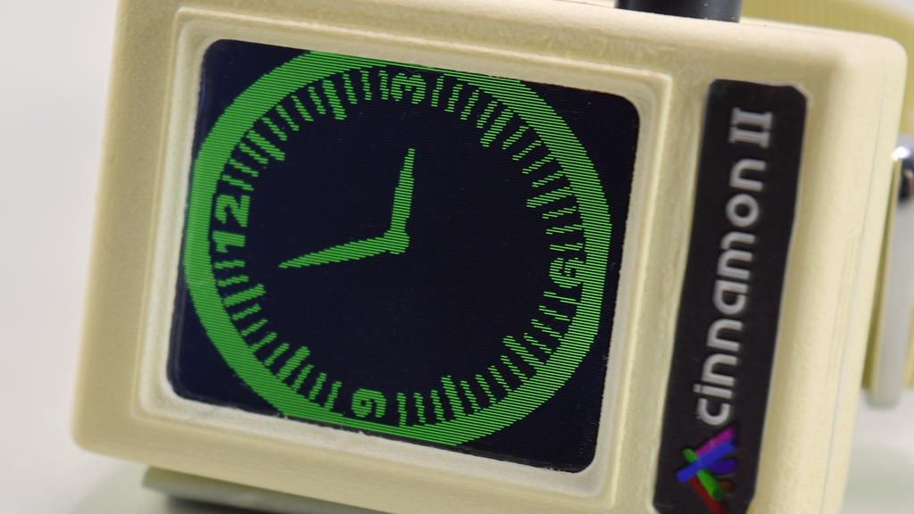 Project image for Cinnamon II The Ultimate Retro Smartwatch