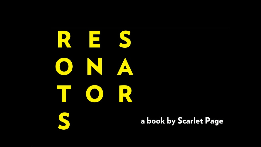 Resonators - The Photographic Book project video thumbnail