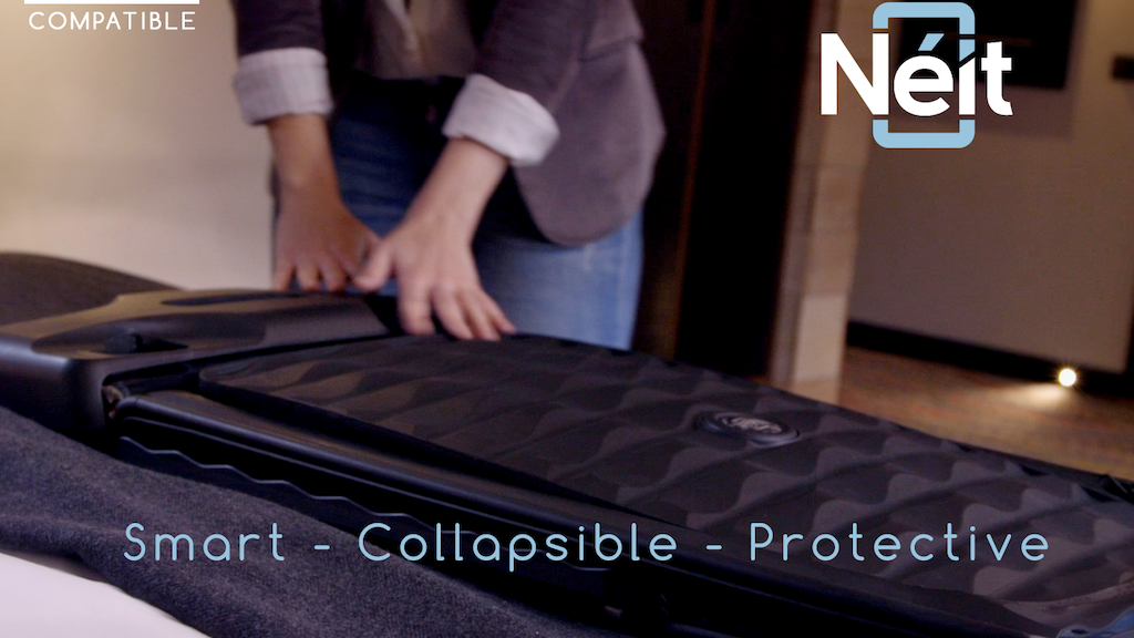 Néit - World's First Smart, Collapsible Hard Case Luggage project video thumbnail