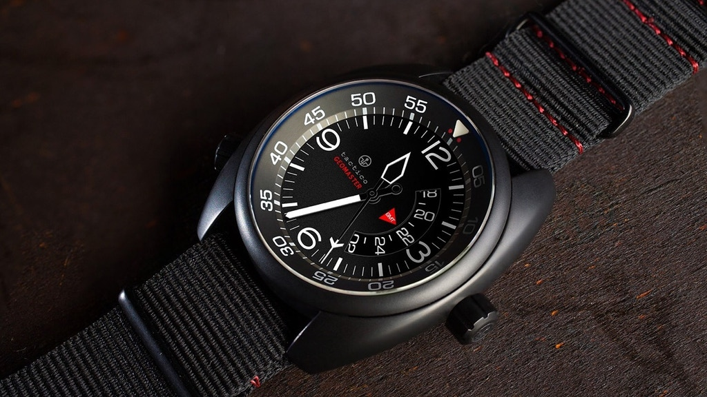 TACTICO GEOMASTER GMT WATCH. LIMITED EDITION 88 PIECES. project video thumbnail