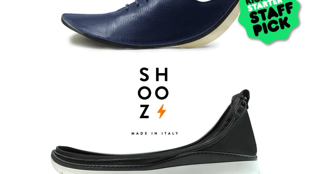 Shooz: The World's First Modular-Tech TRAVEL SHOE project video thumbnail