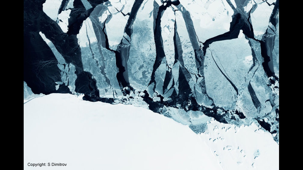 Greenland glaciers project: orchestra, poetry, silent film. project video thumbnail