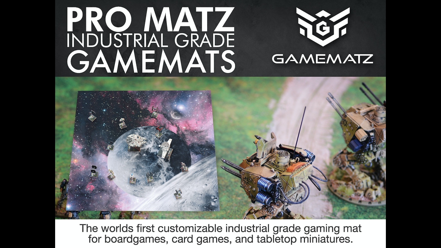 Promatz Industrial Grade Gaming Mats By Game Matz By