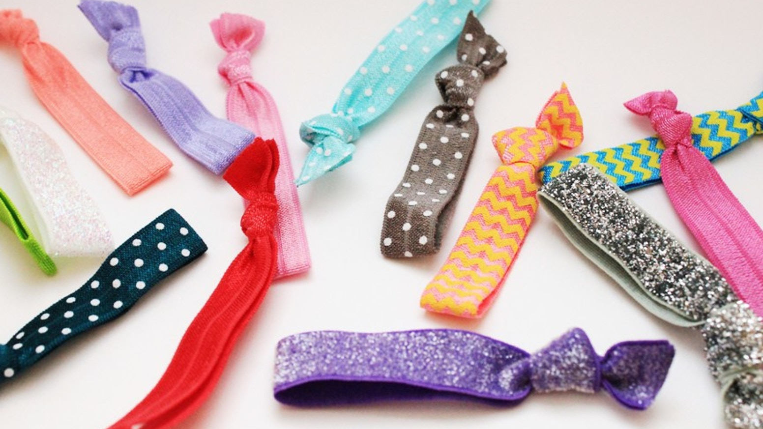Our hair ties won t snag or pull and double as pretty bracelets when you 5cd2d8827f9