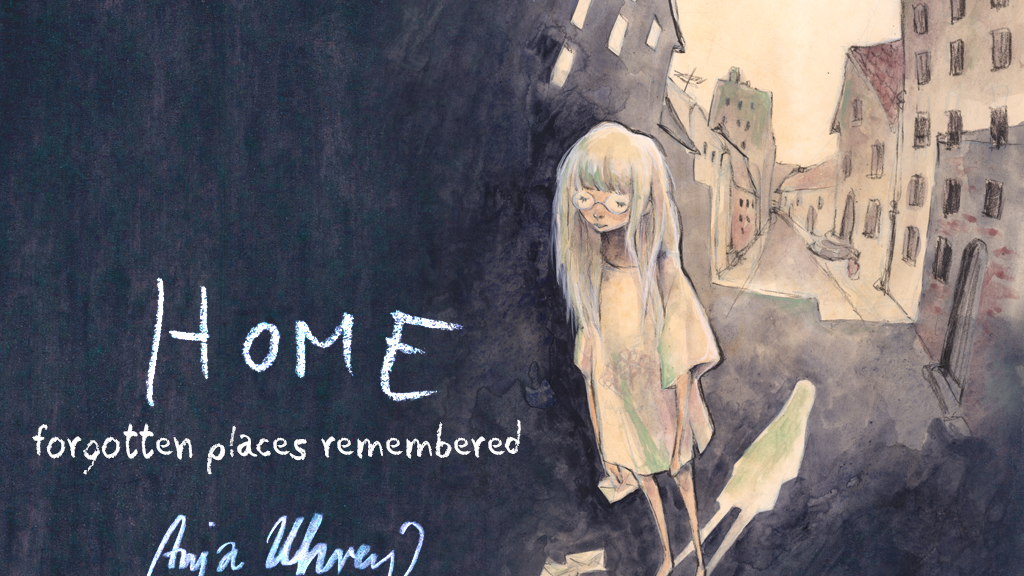 HOME - forgotten places remembered - a Graphic Novel project video thumbnail