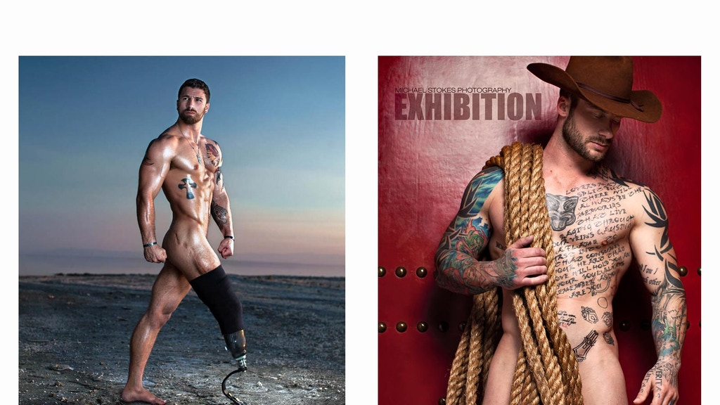 Publish two large-scale photo books by Michael Stokes. project video thumbnail