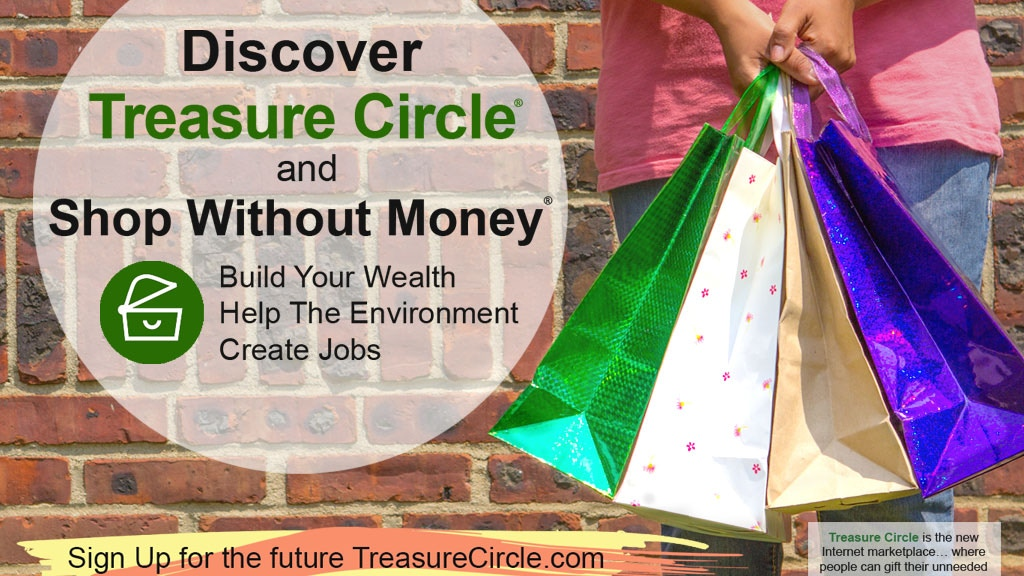 Project image for Shop Without Money with Treasure Circle