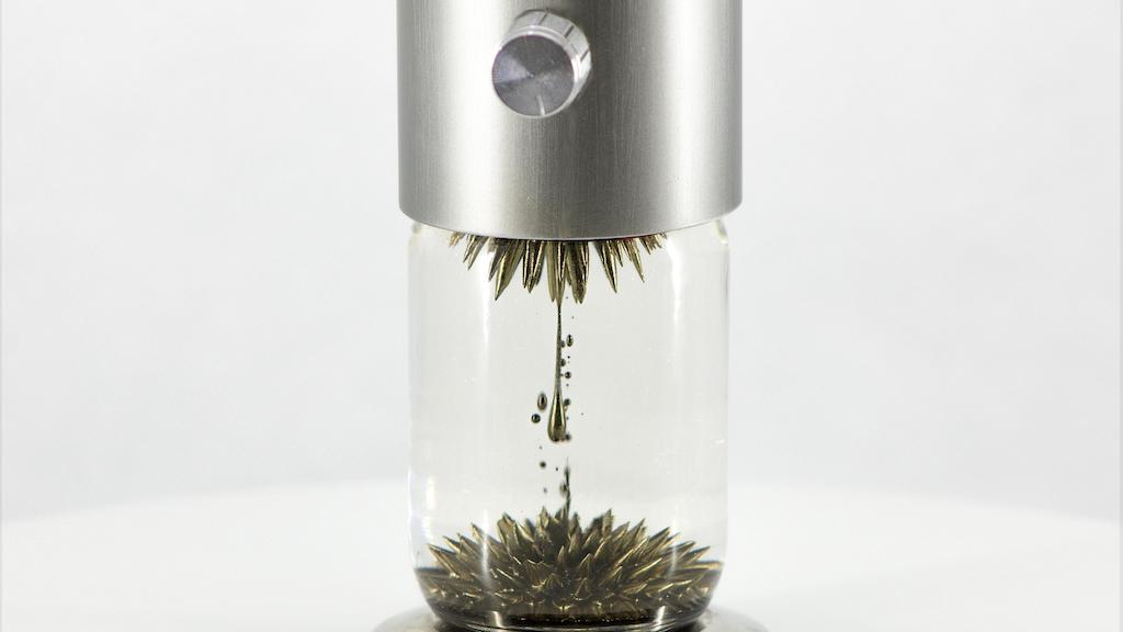 Ferroflow - The First Fully Automatic Ferrofluid Sculpture project video thumbnail