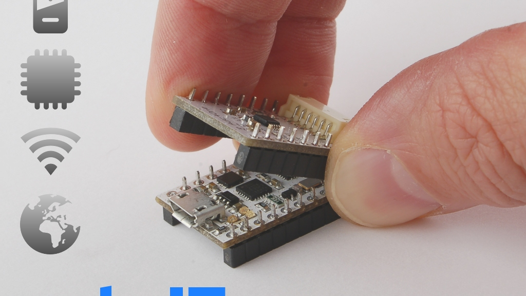 NodeIT: The worlds smallest and expandable IoT system project video thumbnail