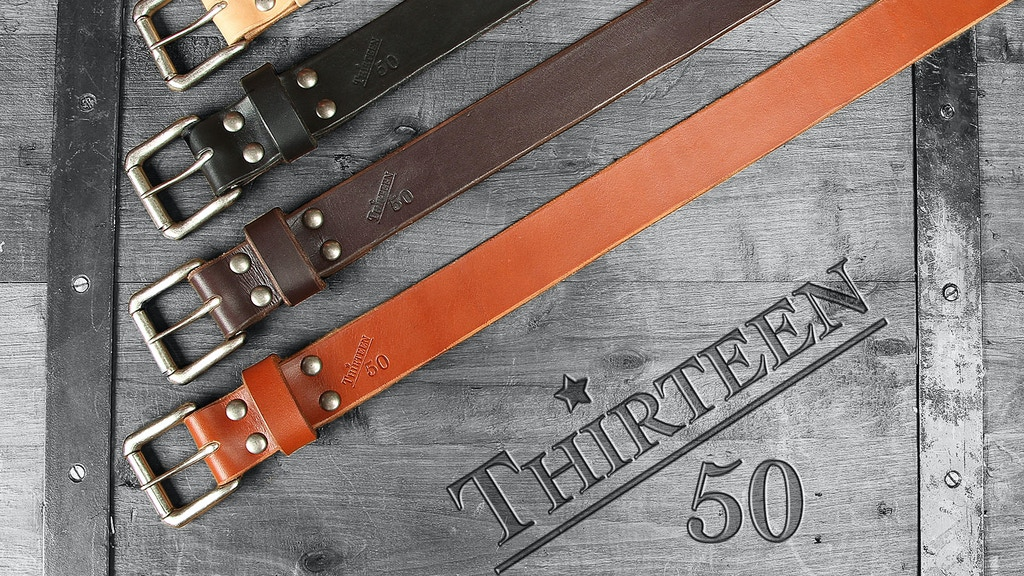 A Full Grain Leather Belt To Last A Lifetime-We Guarantee It project video thumbnail