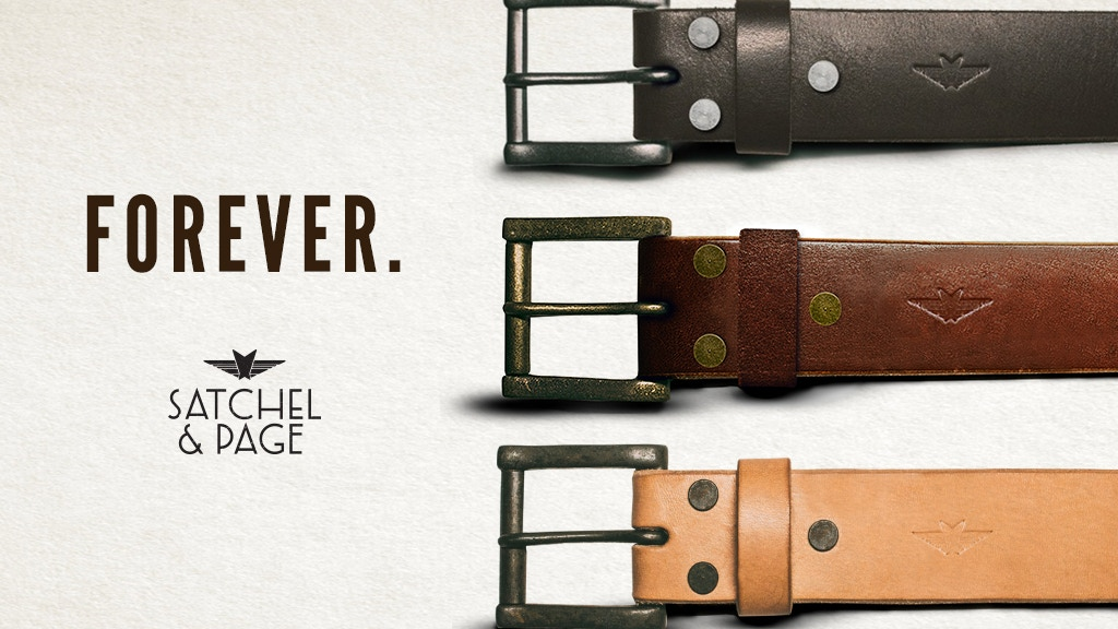 Simply the highest quality belt. Guaranteed for life. project video thumbnail