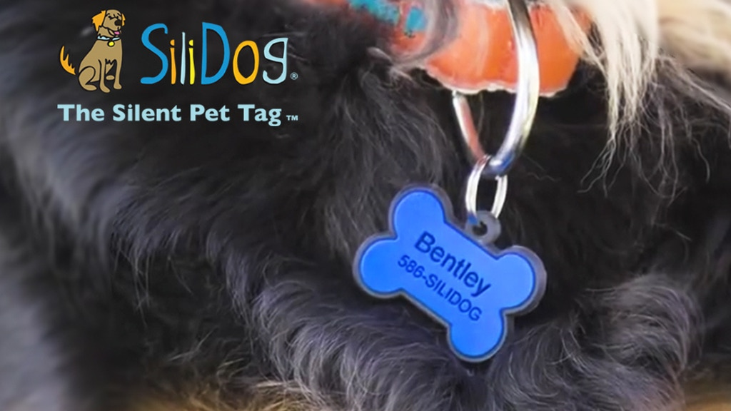 SiliDog Pet Tags: Silent, Never Fade, + Glow-In-The-Dark! project video thumbnail