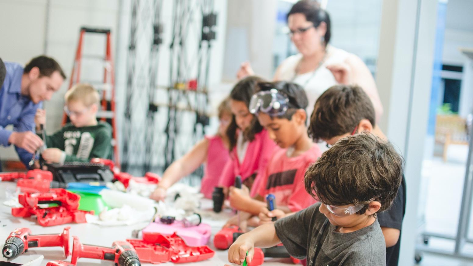 Image result for kids makerspace