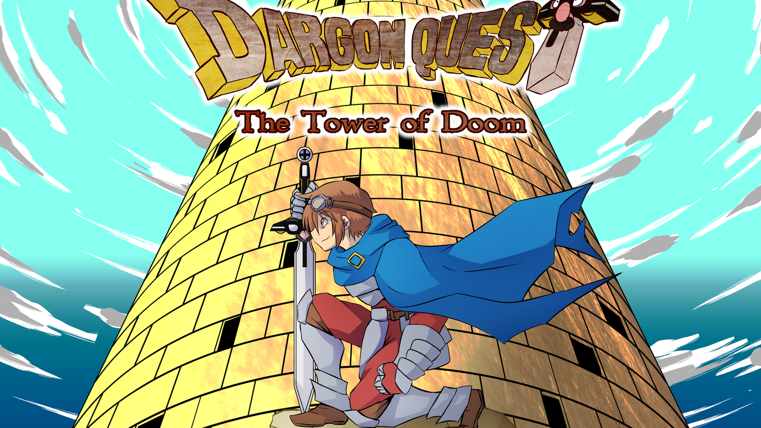 Dargon quest the tower of doom by carey martell kickstarter a homage to classic jrpgs like dragon quest lufia and final fantasy spinoff from the rpg fanatic youtube channel publicscrutiny Gallery