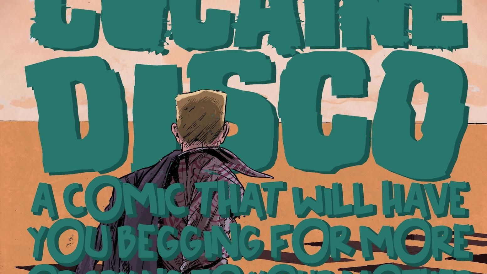 Cocaine Disco 1 By Spencer Desmond Kickstarter Tendencies Tshirt Legend Led Turquoise M