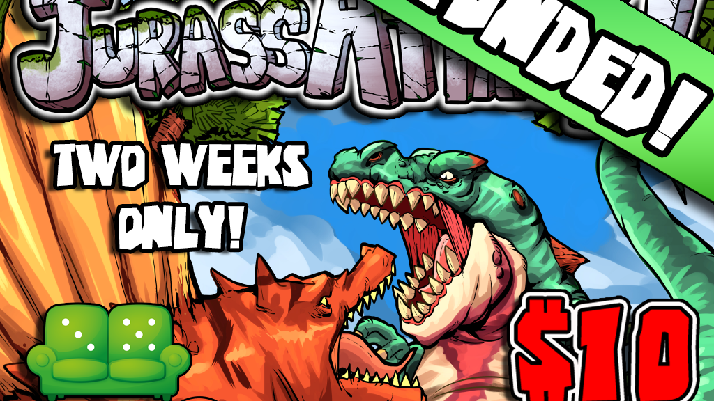 JurassAttack! from Ryan Cowler and Green Couch Games! project video thumbnail