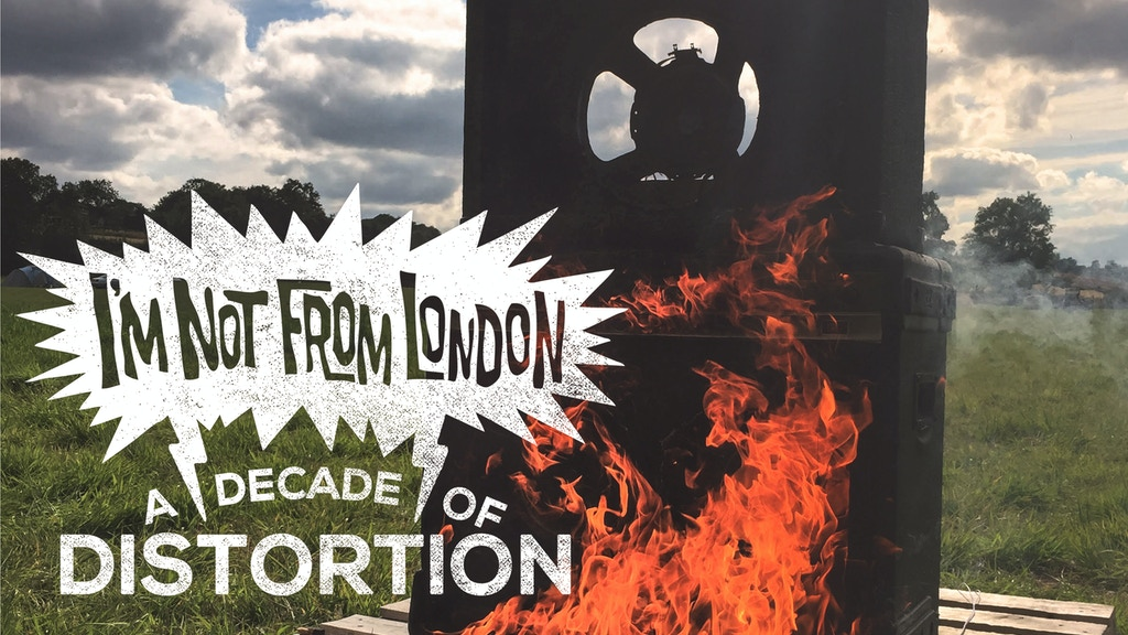 A Decade Of Distortion #imnotfromlondon10 project video thumbnail
