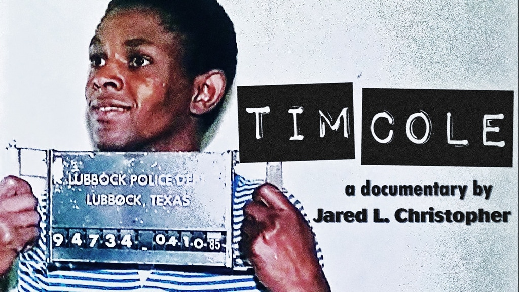 TIM COLE - feature-length documentary project video thumbnail