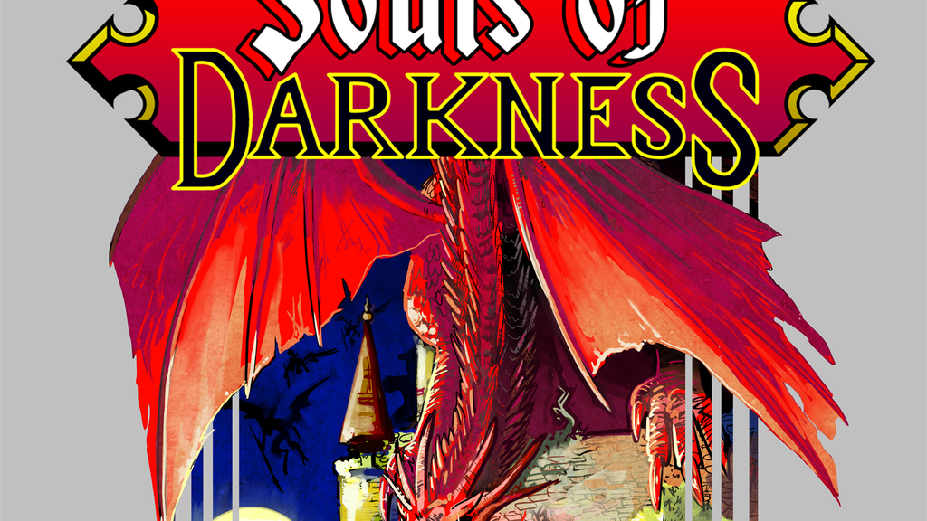 Souls of Darkness, a retro style Dark Souls book project video thumbnail