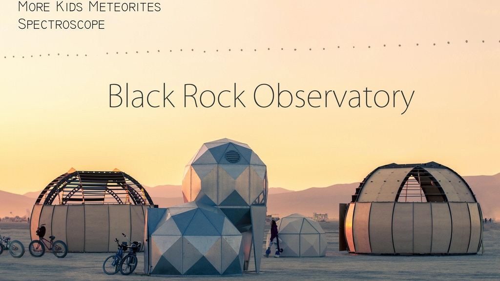 Black Rock Observatory 2015 project video thumbnail