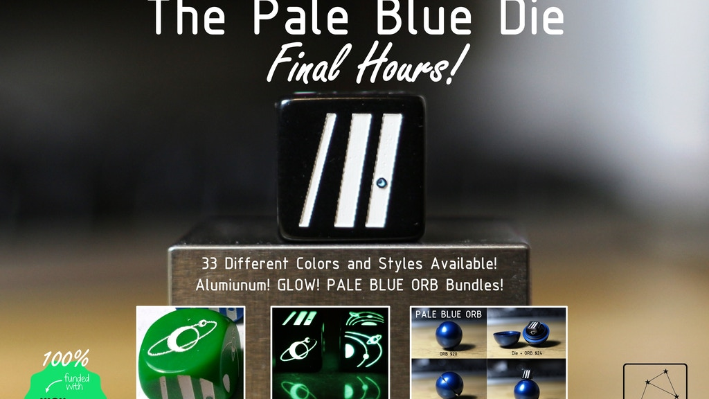 Pale Blue Die: Dice That Underscore The Need For Kindness project video thumbnail