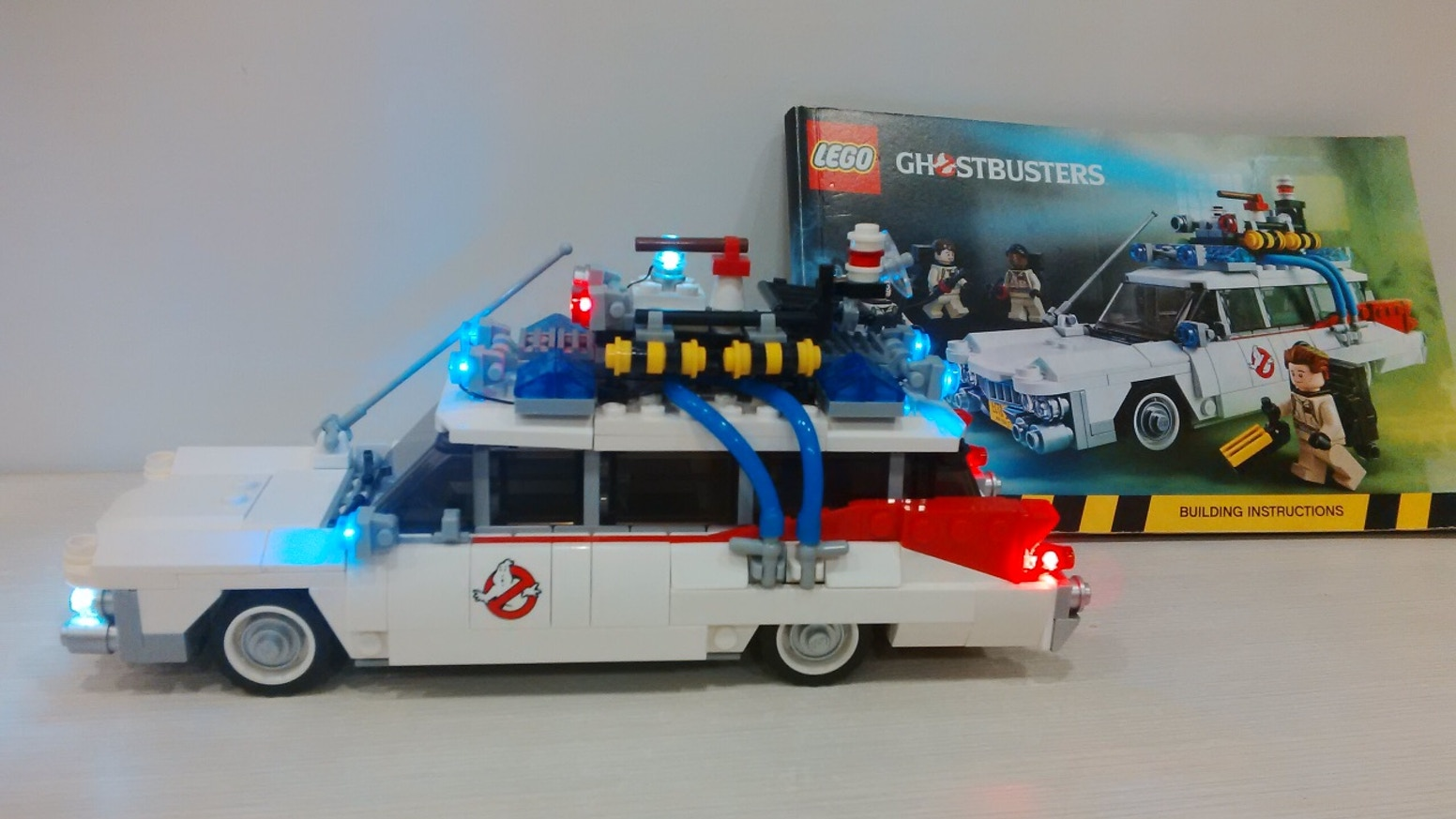Light up kits for LEGO 21108 Ghostbusters Ecto-1 by