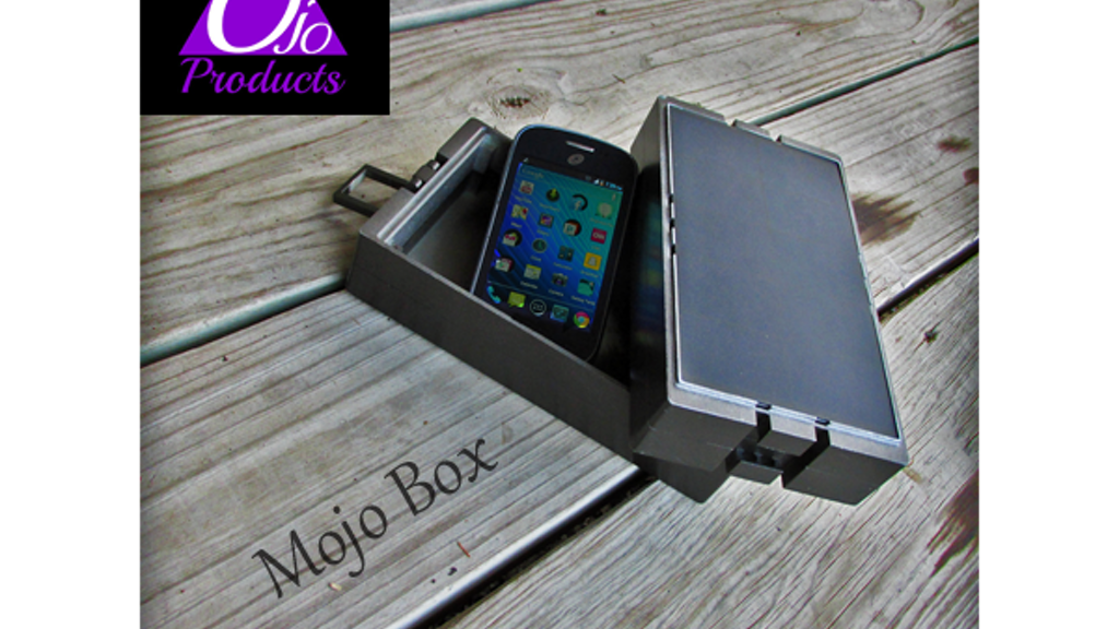 Mojo Box - Solar Charger & Bluetooth Speaker & Smart Box project video thumbnail