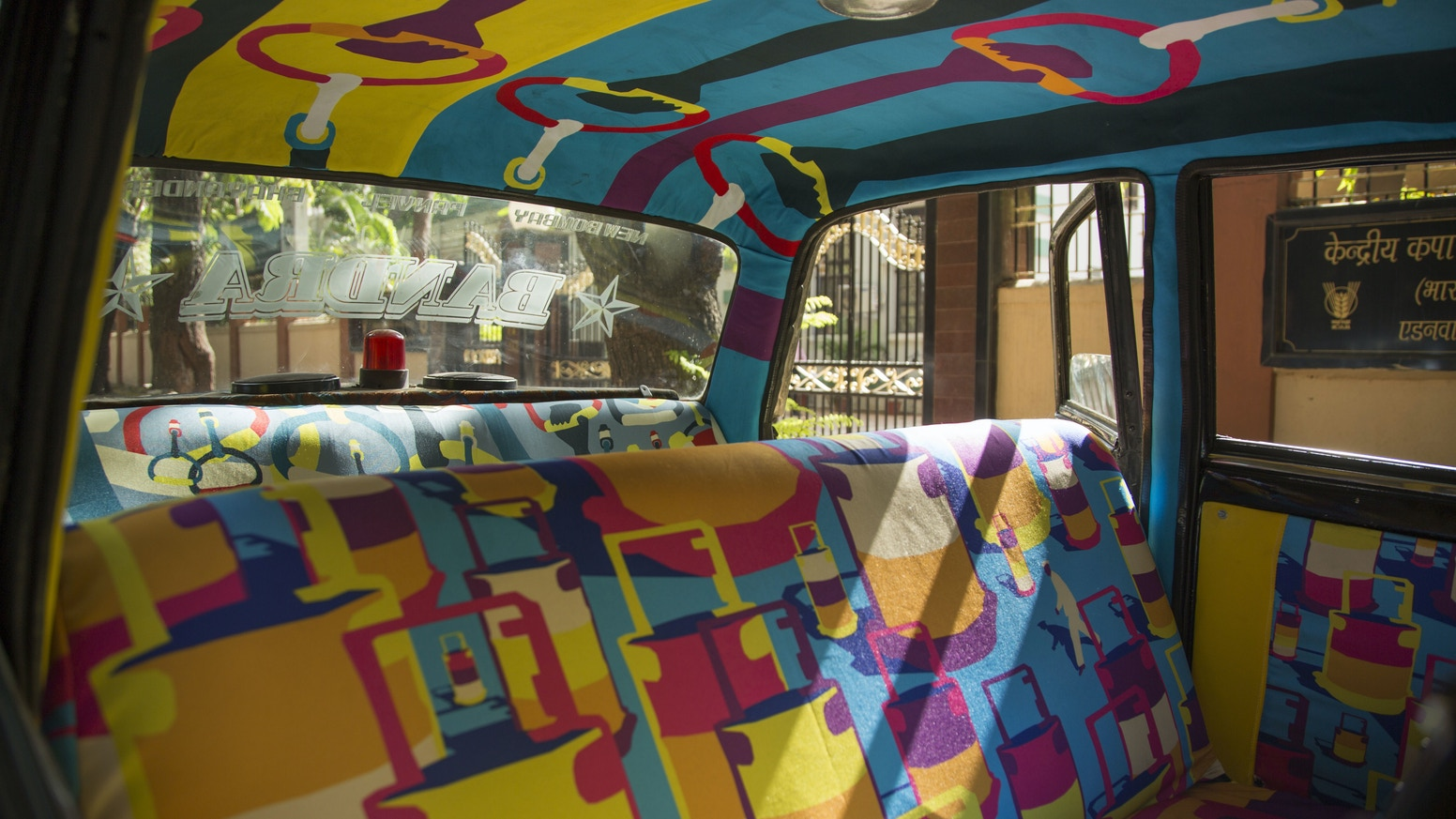 Designers in Mumbai are creating Taxi Fabrics that tell stories from their city, showing Indians the impact good design can have.
