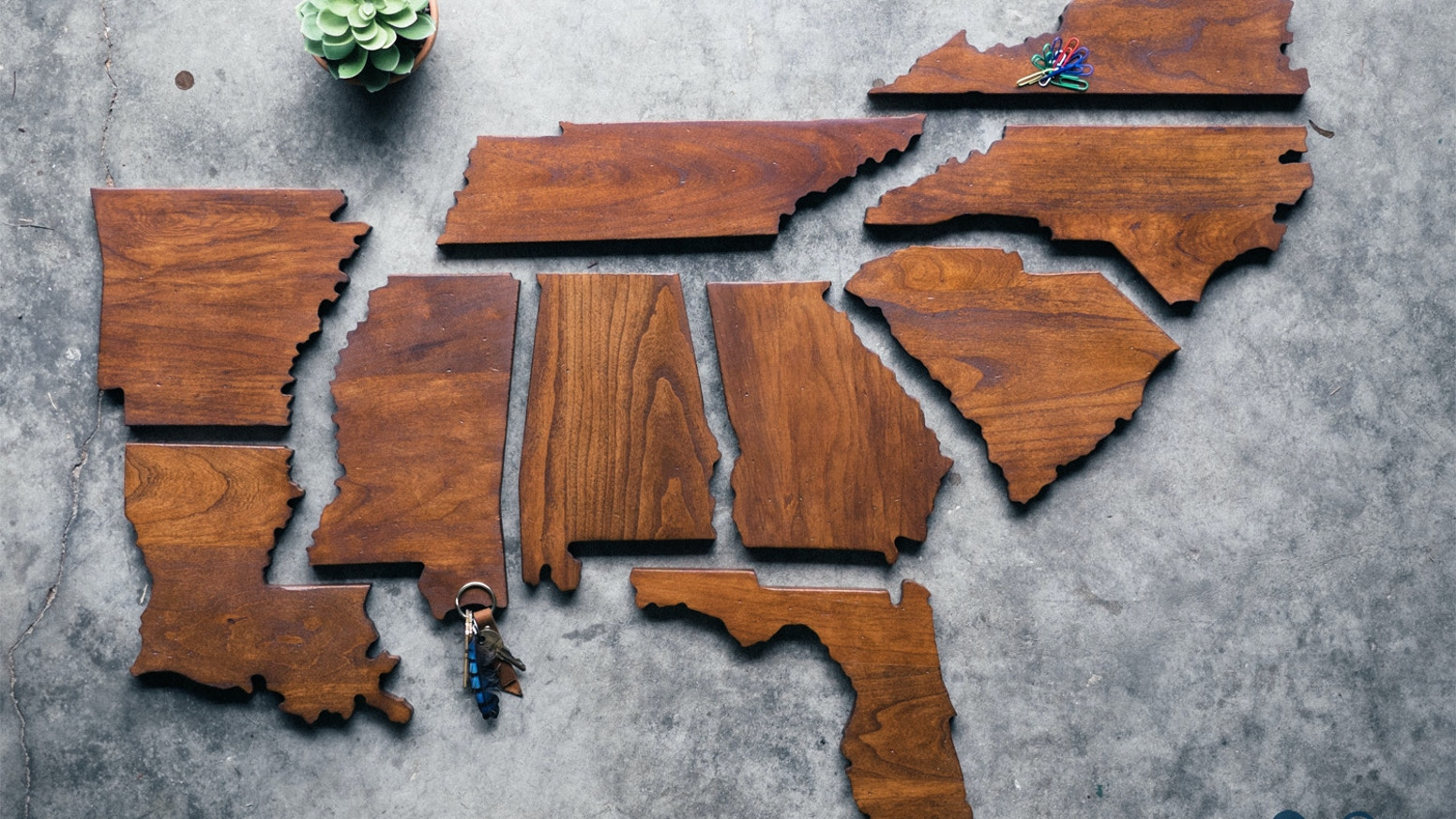The Wooden States of America by Benjamin Aroh — Kickstarter