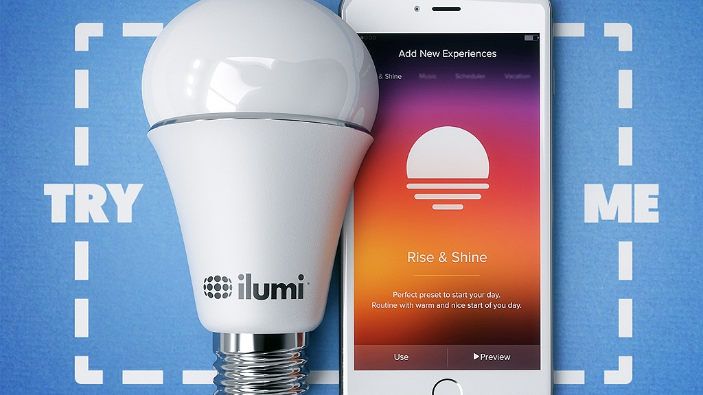 The New ilumi. A Better Smartbulb. project video thumbnail