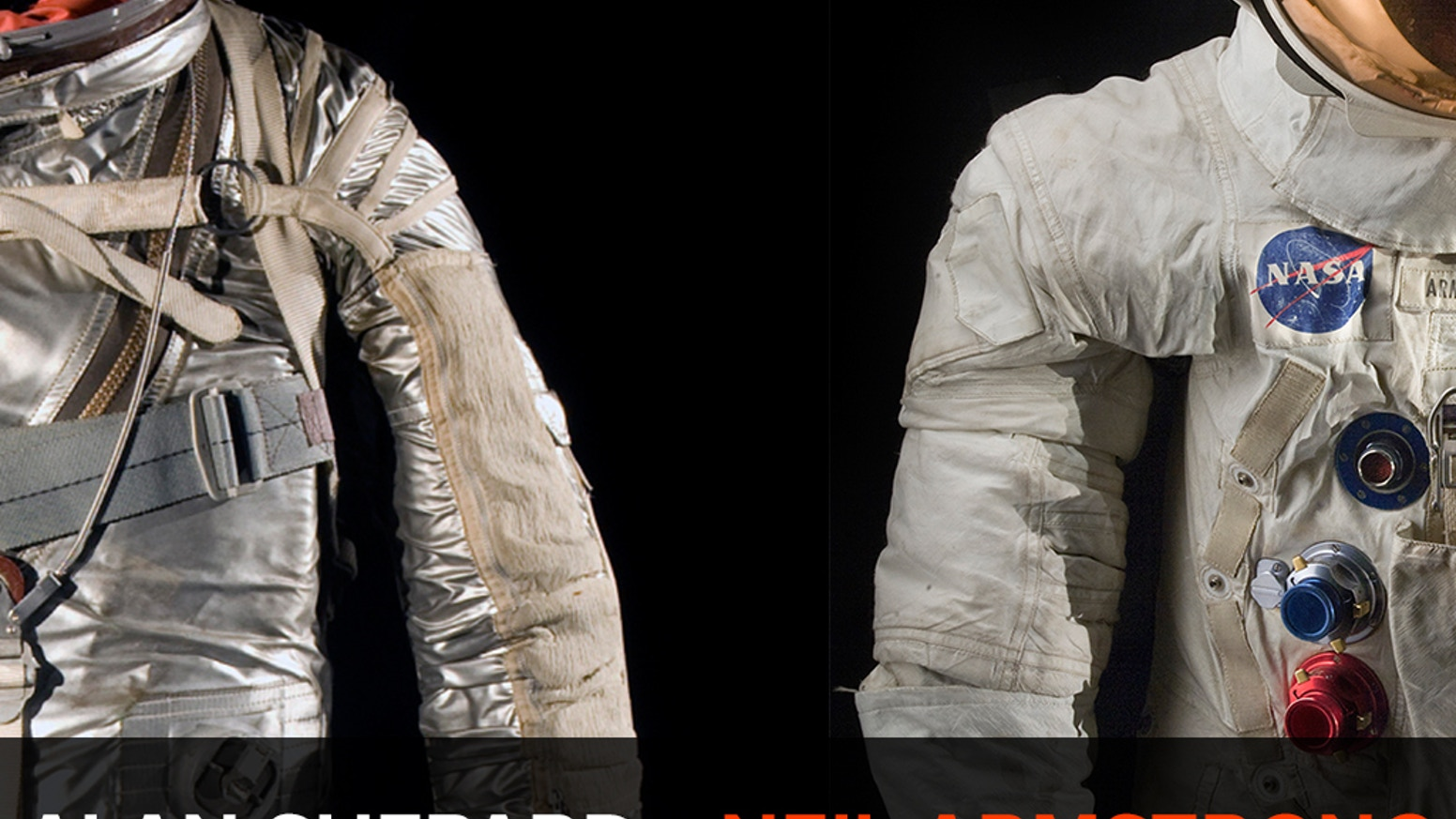 A community of backers around the world came together to help the Smithsonian conserve, digitize, and display Neil Armstrong's and Alan Shepard's spacesuits.