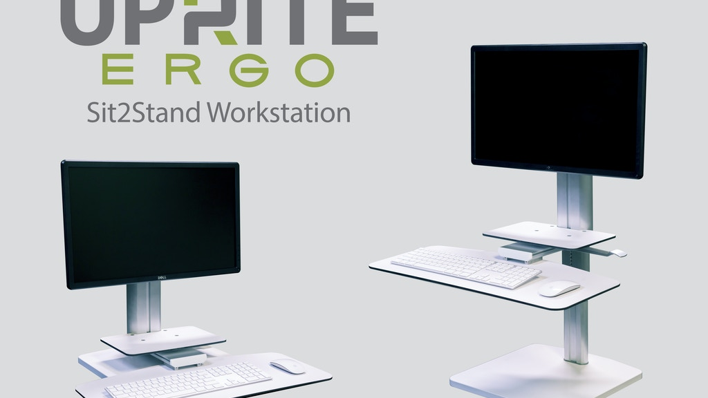 Uprite Ergo Sit2Stand Height Adjustable Workstation project video thumbnail