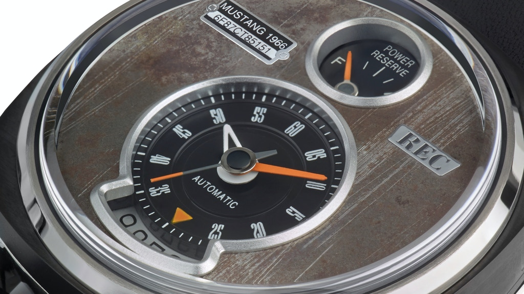 THE P-51 AUTOMATIC WATCH by REC - Recycling Horsepower! project video thumbnail