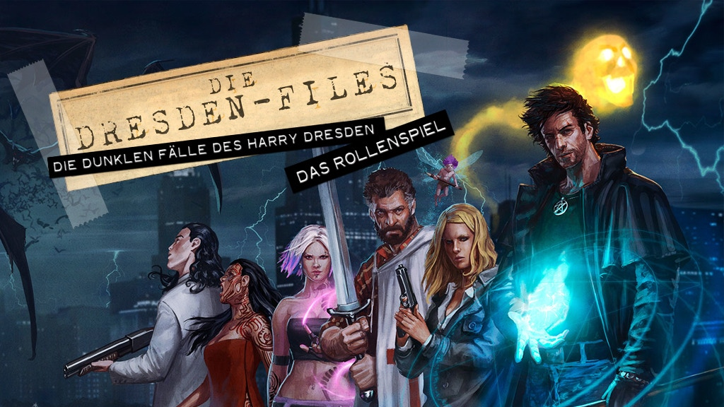 Das Dresden-Files-Rollenspiel project video thumbnail