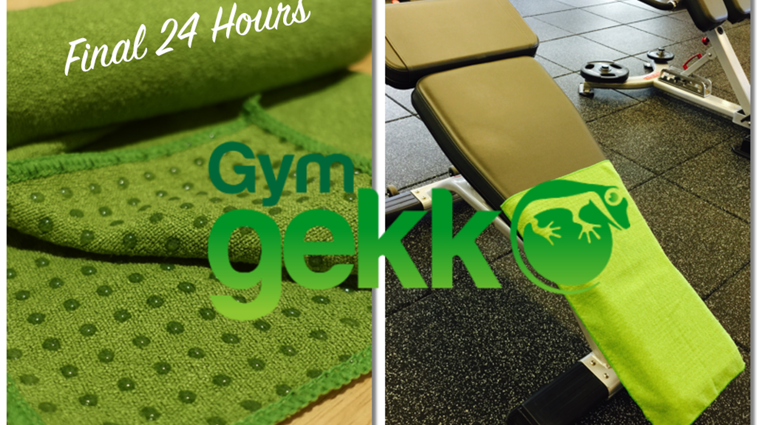 Over 2,000 silicone dots grip the Gym Gekko to nearly any surface, to shield you from other people's sweat while absorbing your own.