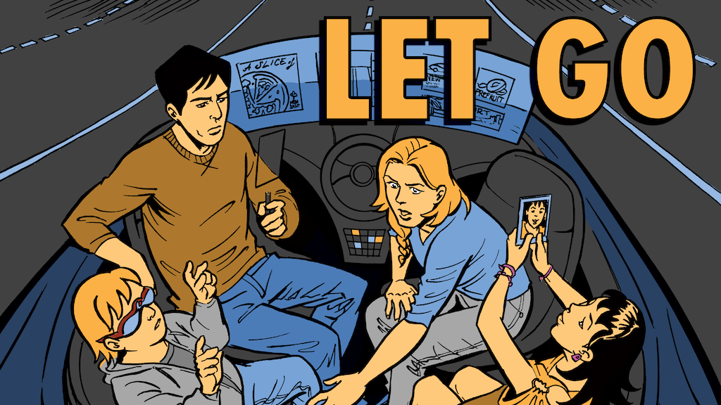 LET GO, An Indie Sci Fi Graphic Novel project video thumbnail
