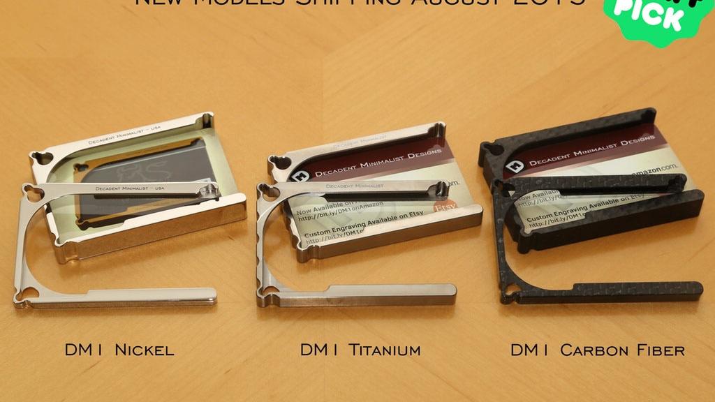 DM1:Titanium & Carbon Fiber Wallet by Decadent Minimalist project video thumbnail