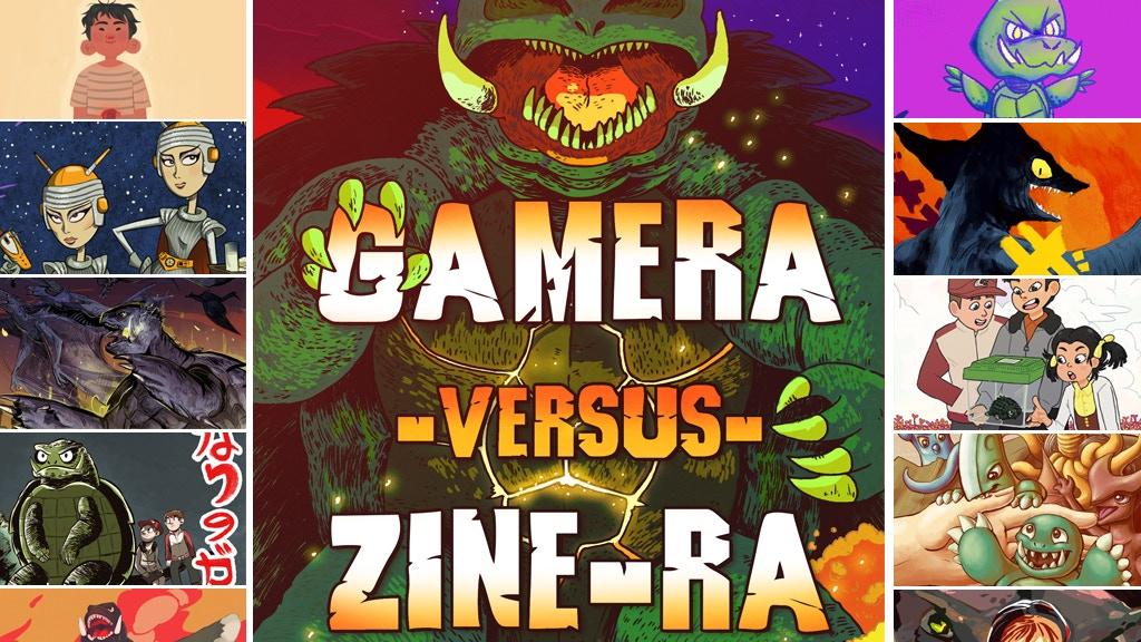 Project image for GAMERA vs ZINE-RA: A 50th Anniversary Celebration