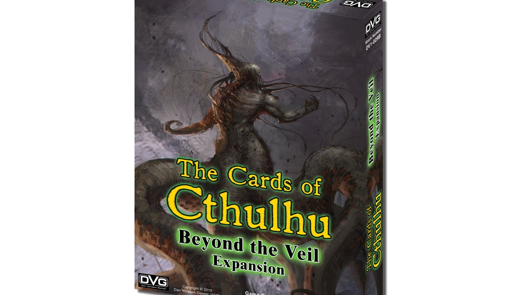 The Cards of Cthulhu - Beyond the Veil Expansion project video thumbnail