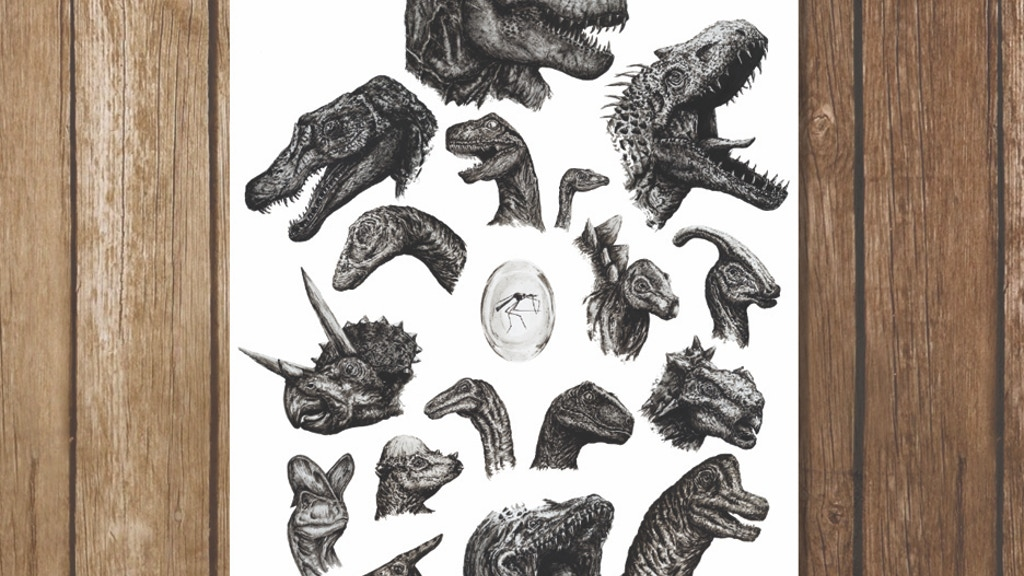 Dinosaur Lover Lithography project video thumbnail